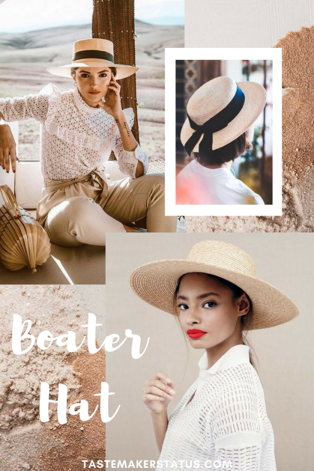 Boater Hats - Tastemaker Status