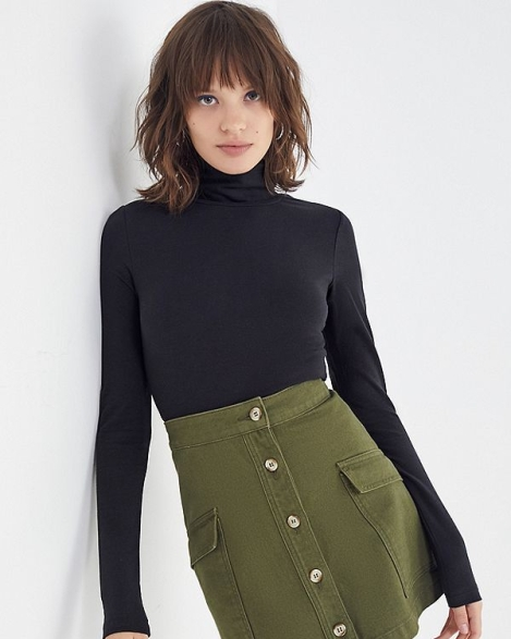 Urban Outfitters Perfect Turtleneck Top