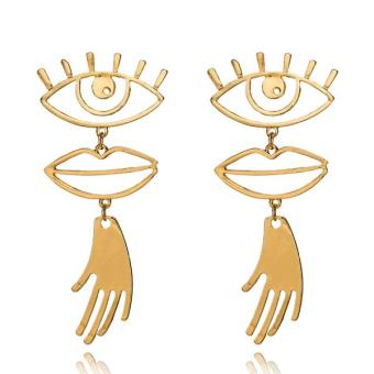 Abstract-Art-Gold-Color-Chic-Palm-Statement-Dangle-Earrings-Hyperbole-Big-Eyes-Tassel-Earring-For-Women_21bc775c-6e27-4a3f-abcd-00bf23815191_grande