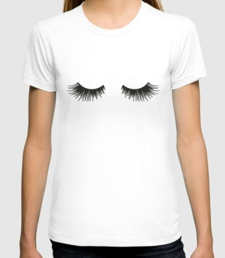 Closed Eyelaches T-Shirt