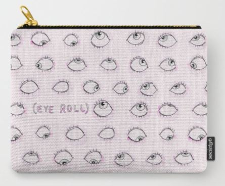 Eye Roll Pouch